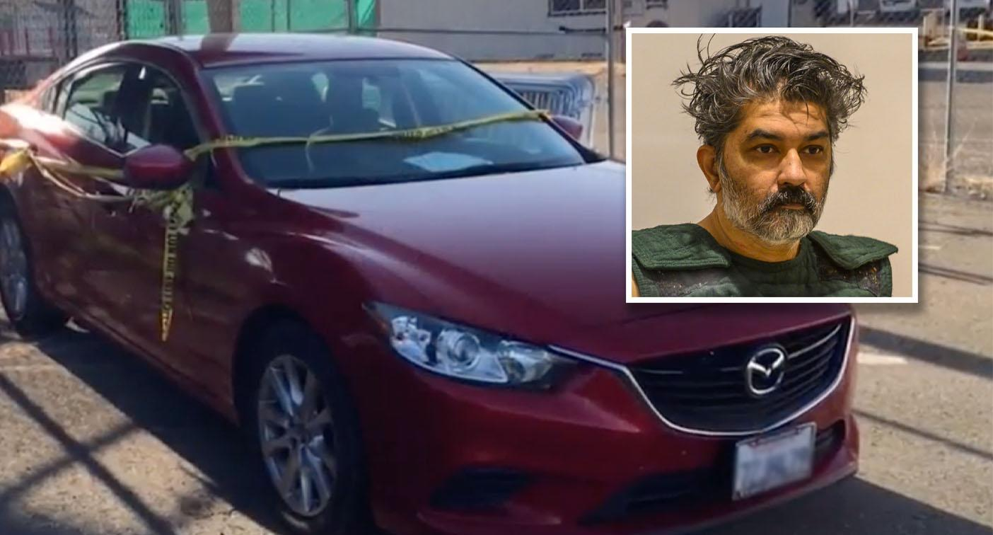 Gruesome find after man 'shows up at police station with son's body in boot'