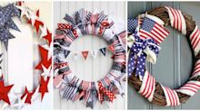 13 DIY 4th of July Wreaths That Will Dress Up Your Front Door