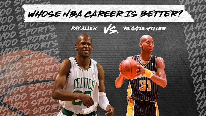 Whose NBA career is better? Ray Allen vs. Reggie Miller