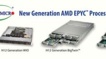Supermicro Now Offering AMD EPYC(TM) 7002 Series Processor-based Systems to Customers Who Want to Transform Their Data Centers