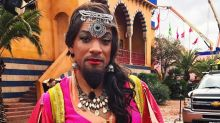Disney Drag! Will Smith Shares New Photo of His Genie Transformation for Aladdin