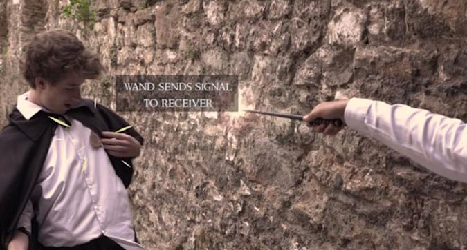 Challenge friends to real-life wizard duels with 'Maguss'