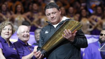 LSU coach gets hefty raise after national title