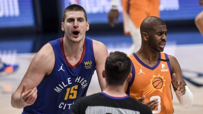 Nuggets all talk, no action vs. Suns
