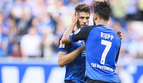 Bundesliga: TSG bangt um Einsätze von Kramaric und Rupp