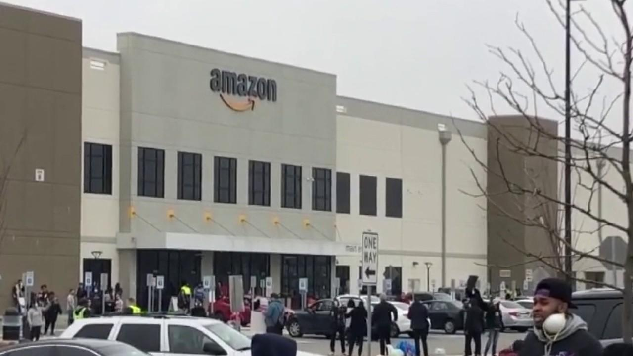amazon workers go on strike amid covid