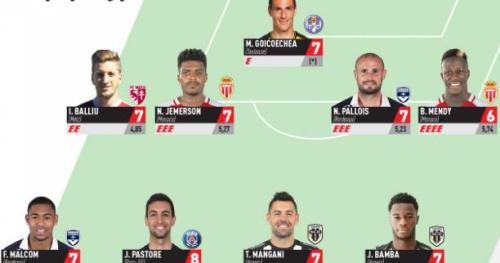 Foot - L1 - Ligue 1 : L'équipe type de la 30e journée
