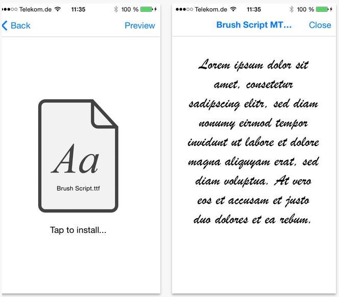 This is the best way to get custom fonts on your iPhone and iPad