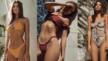 Emily Ratajkowski just launched a swimwear line