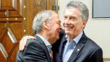 """La """"otra foto"""" importante del día: Mauricio Macri recibió a Schiaretti en la Casa Rosada"""