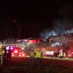 Trains Collide in Kentucky, Derailed Cars Cause Hazardous Material Scare