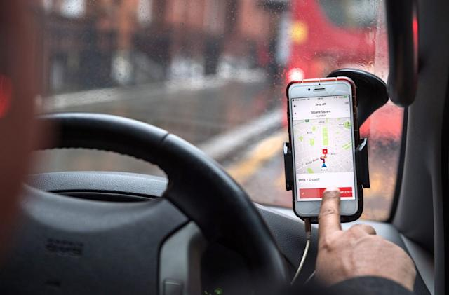 Uber forcing UK drivers to take breaks in the name of safety