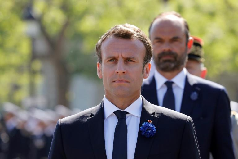 President Emmanuel Macron is said to be irked that Philippe did not join his centrist Republic on the Move (LREM) movement (AFP Photo/FRANCOIS GUILLOT)