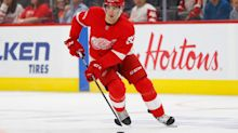 Red Wings' Joe Veleno confident time in Sweden will help his NHL career