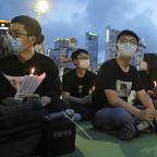 Hong Kong activist Joshua Wong sentenced for Tiananmen vigil