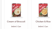 Tim Hortons expands grocery store offering with canned soup and chili