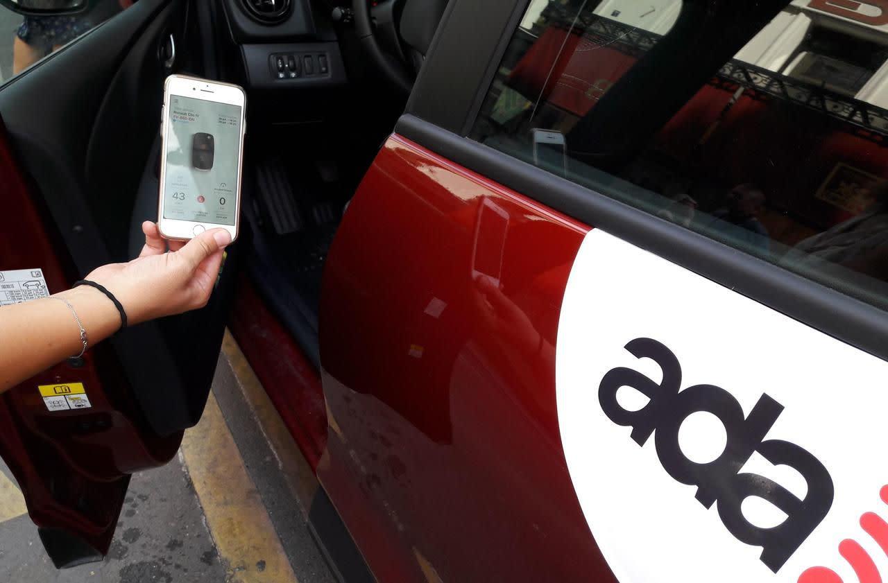 paris louer votre voiture avec votre smartphone