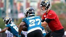 Leonard Fournette takes a swipe at Nick Foles, Blake Bortles with Tom Brady comment
