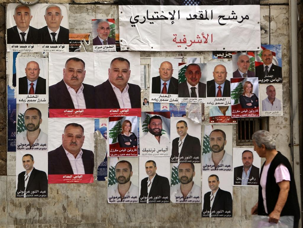 Municipal elections in Lebanon take place every six years, with political parties often forming joint candidate lists (AFP Photo/Patrick Baz)
