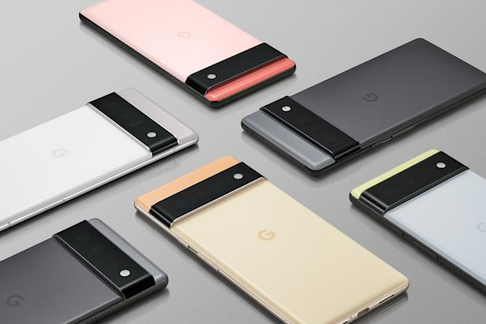 Google's Pixel 6 and Pixel 6 Pro will use AI everywhere