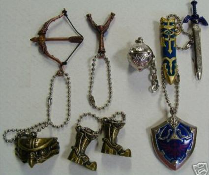 Twilight Princess charms let you carry Iron Boots everywhere