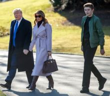 Coronavirus: Trump says teenage son Barron 'isn't as happy as he could be' as quarantine frustrations hit White House