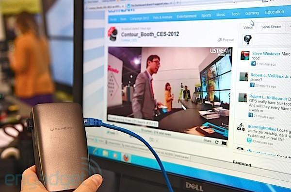 Cerevo Live Shell with Contour+ hands-on (video)