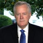 White House chief of staff Mark Meadows on accepting election results