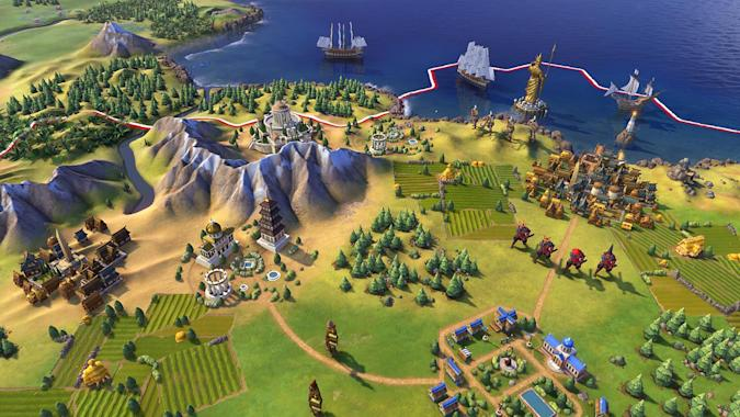'Civilization VI' from Firaxis / 2K Games