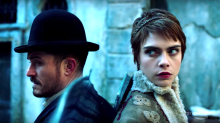 'Carnival Row' First Look: Orlando Bloom and Cara Delevingne in Amazon's Victorian Fantasy — Watch