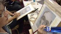Renowned HPD sketch artist teaching others the skill