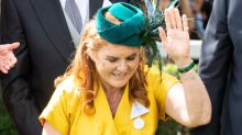 Sarah Ferguson Shows Off Deep Curtsy as She Reunites with Ex Prince Andrew for Royal Ascot