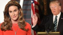 Caitlyn Jenner announces she would 'come after' Trump and run for president