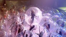 Wayne Coyne on why the Flaming Lips's bubble concerts are 'safer than going to the grocery store'