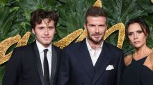 How David and Victoria Beckham reacted to Brooklyn's engagement