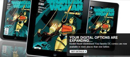 DC Comics makes deal for Kindle, iBookstore, and Nook