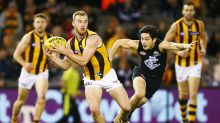 Undermanned Hawks hand Blues an absolute thrashing