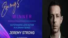 Emmys 2020: Jeremy Strong wins 'Outstanding Lead Actor in Drama Series'