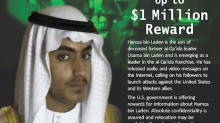 Osama bin Laden's youngest son, Hamza, had taken up terrorism to 'avenge' his notorious father