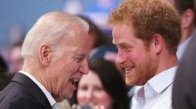 Joe Biden's cheeky comment to Prince Harry resurfaces