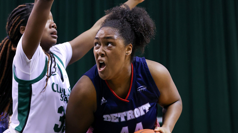 Detroit Mercy player can stay, but she can't play