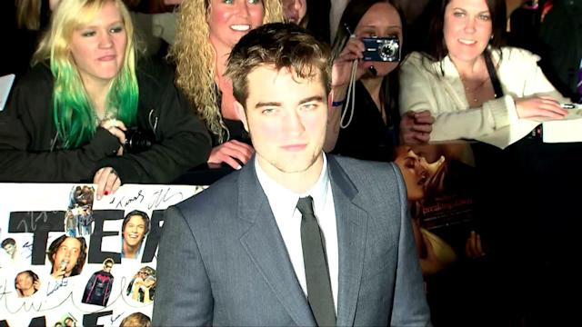 Robert Pattinson Parties with Fifty Shades of Grey Author