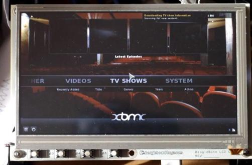 BeagleBone board boots up XBMC Eden, shows off its media prowess