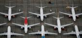 Fleet of Boeing 737 Max jets. (Reuters)