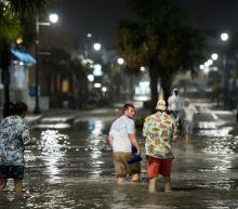 Hurricane Isaias makes landfall in North Carolina bringing 85mph winds and storm surge warnings