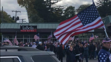 American flag appreciation walk met with protests: 'Everyone was welcome at this, Democrat, Republican, liberal'