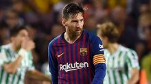Shock Barcelona defeat creates unwanted piece of Messi history