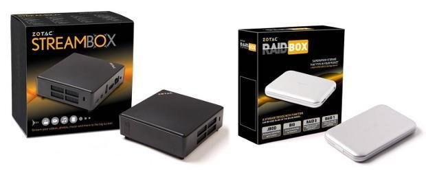 Zotac's StreamBox and RAIDbox build upon the ZBOX's HTPC pedigree