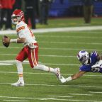 Chiefs quarterback Mahomes continues to progress with time