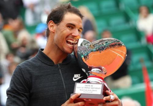 Rafael Nadal remporte son 10e tournoi de Monte-Carlo